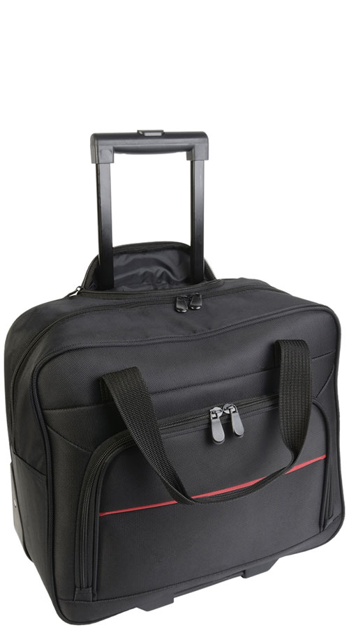 Borsa trolley porta PC in nylon Madrid