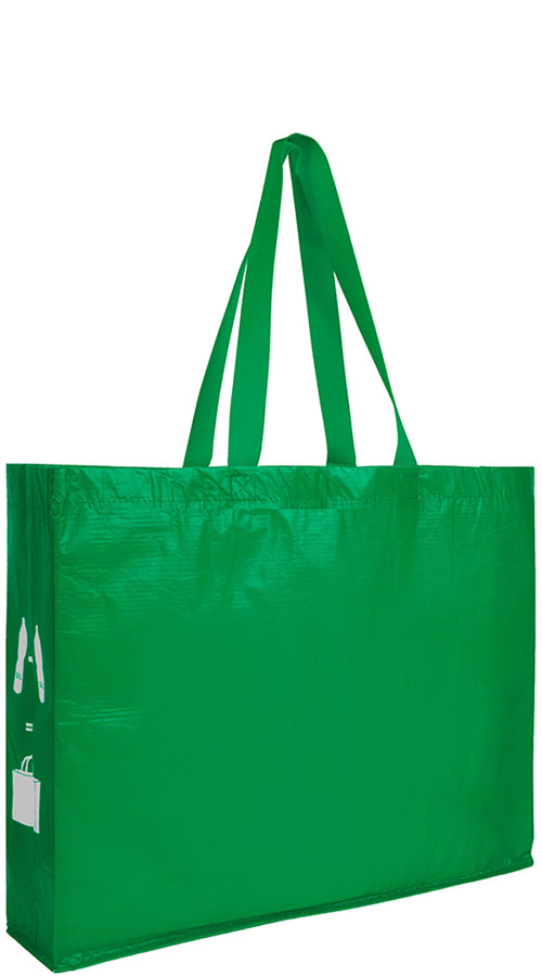 Shopper in PET riciclato Bottles verde